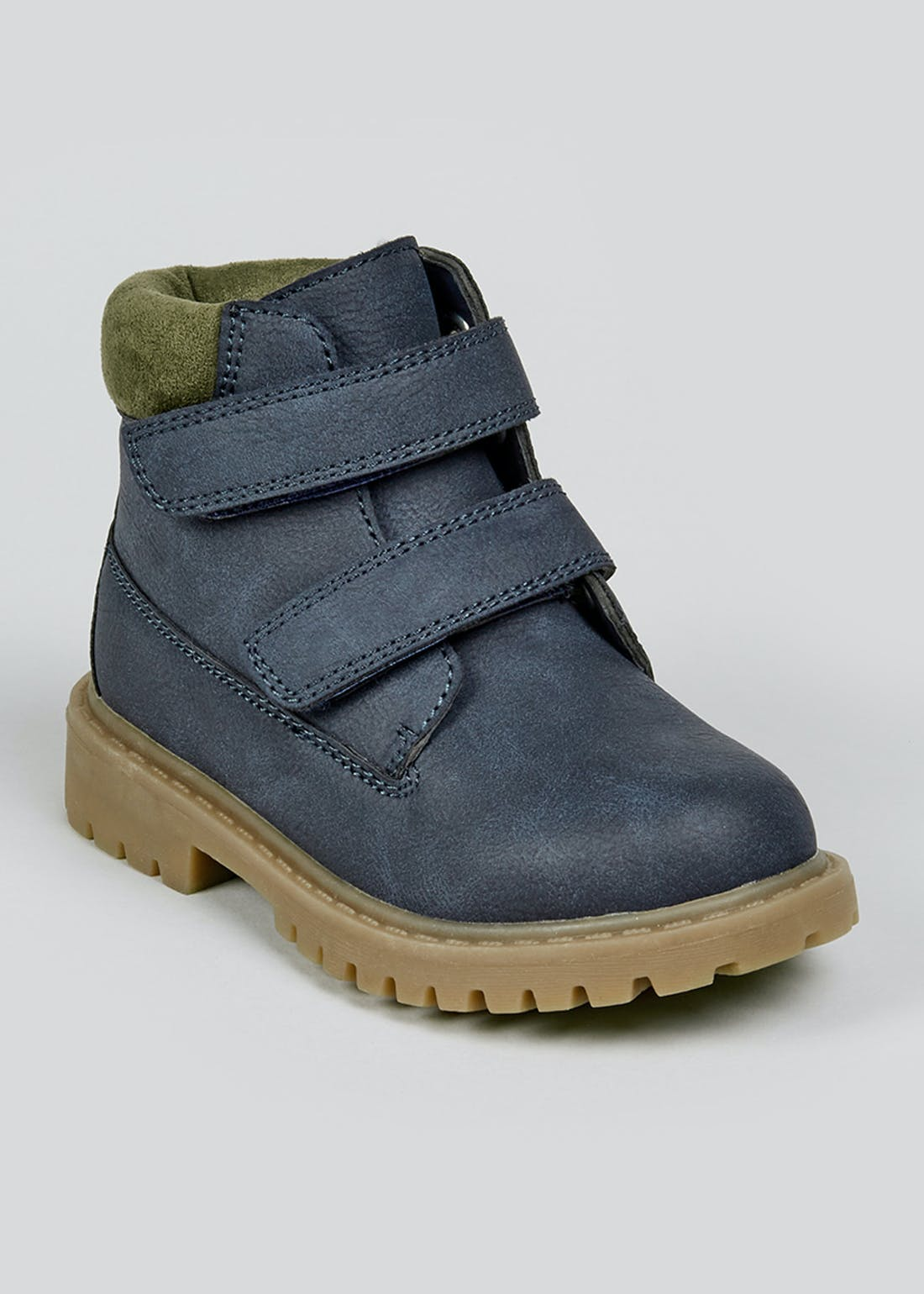 Kids Navy Hiker Boots (Younger 4-12)
