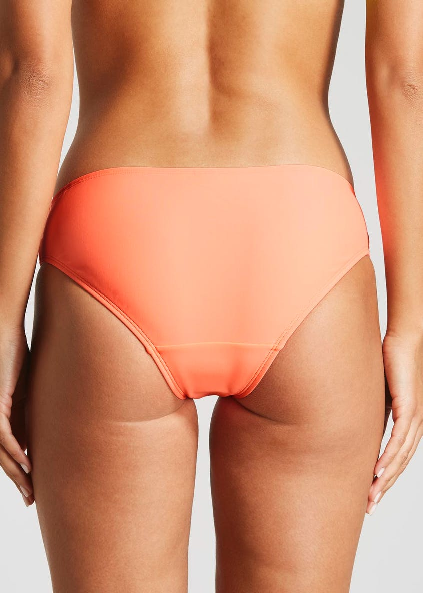 Plaited Side Bikini Bottoms