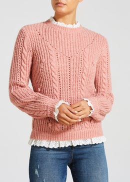 Falmer Frill 2 in 1 Shirt Jumper