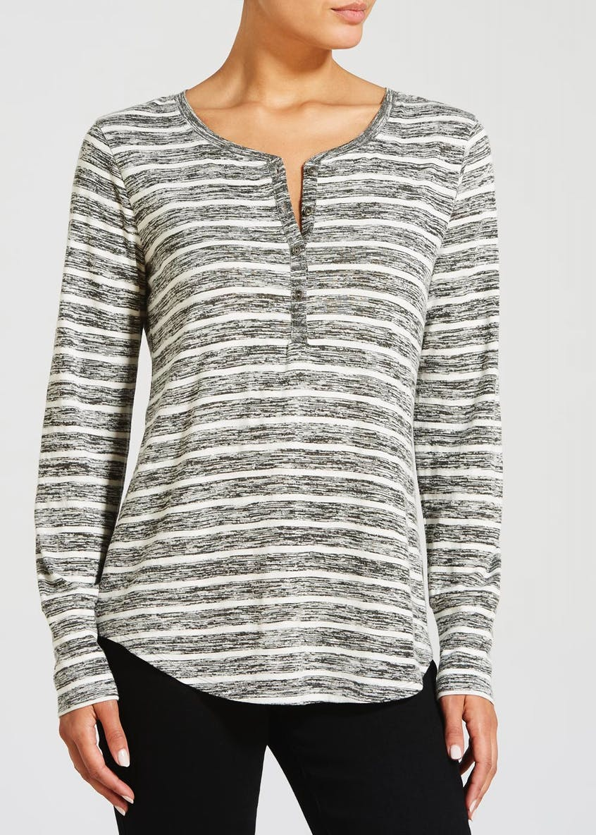 Stripe Henley Top