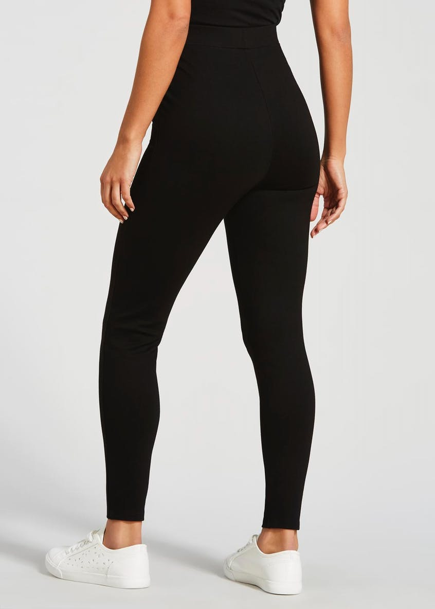 Zip High Waisted Body Shaper Leggings