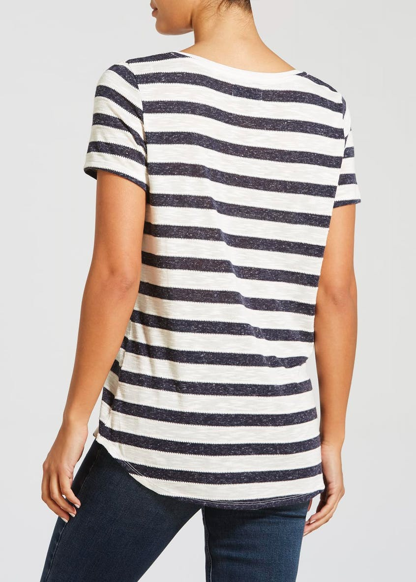 Textured Stripe T-Shirt