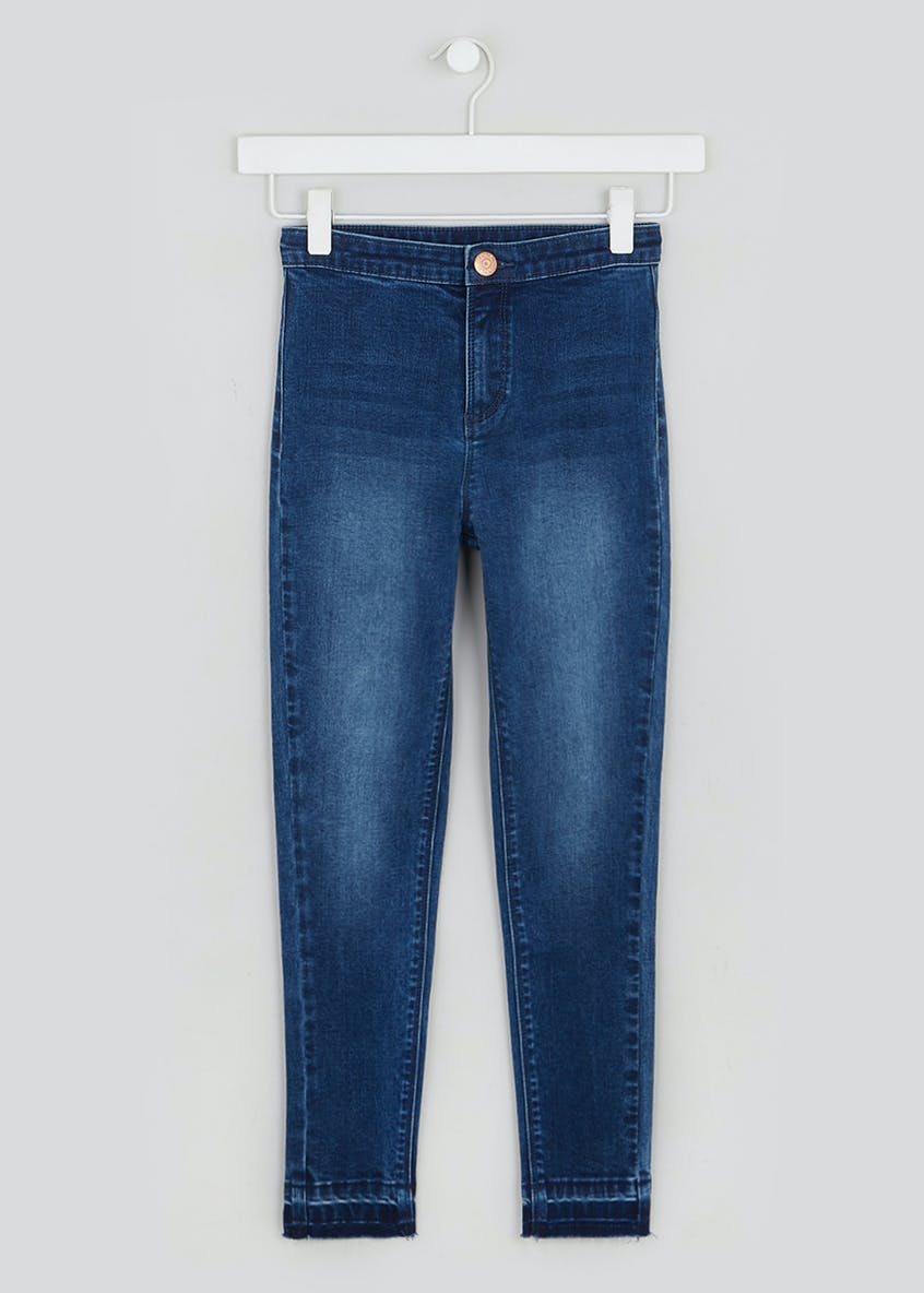Girls Candy Couture High Waisted Skinny Jeans (9-16yrs)