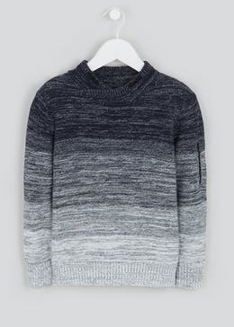 Boys Ombre Jumper (4-13yrs)