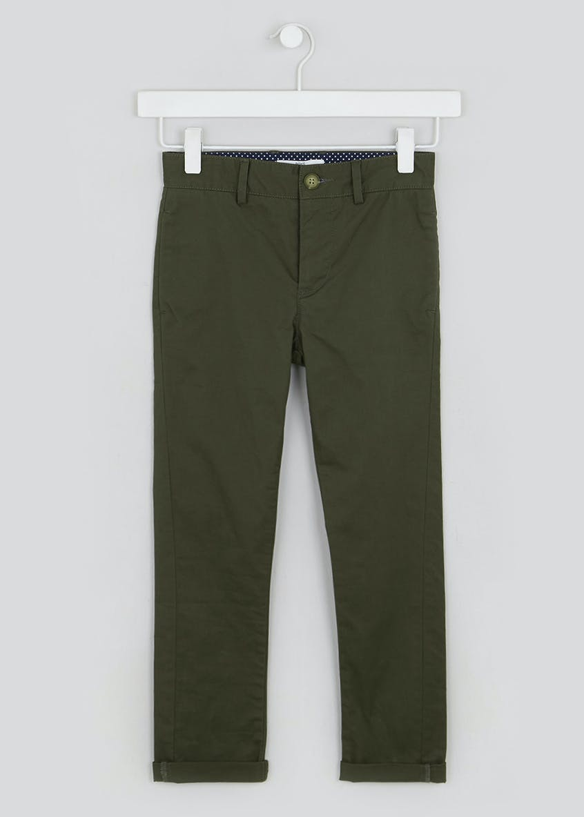Boys Skinny Stretch Chino Trousers (4-13yrs)