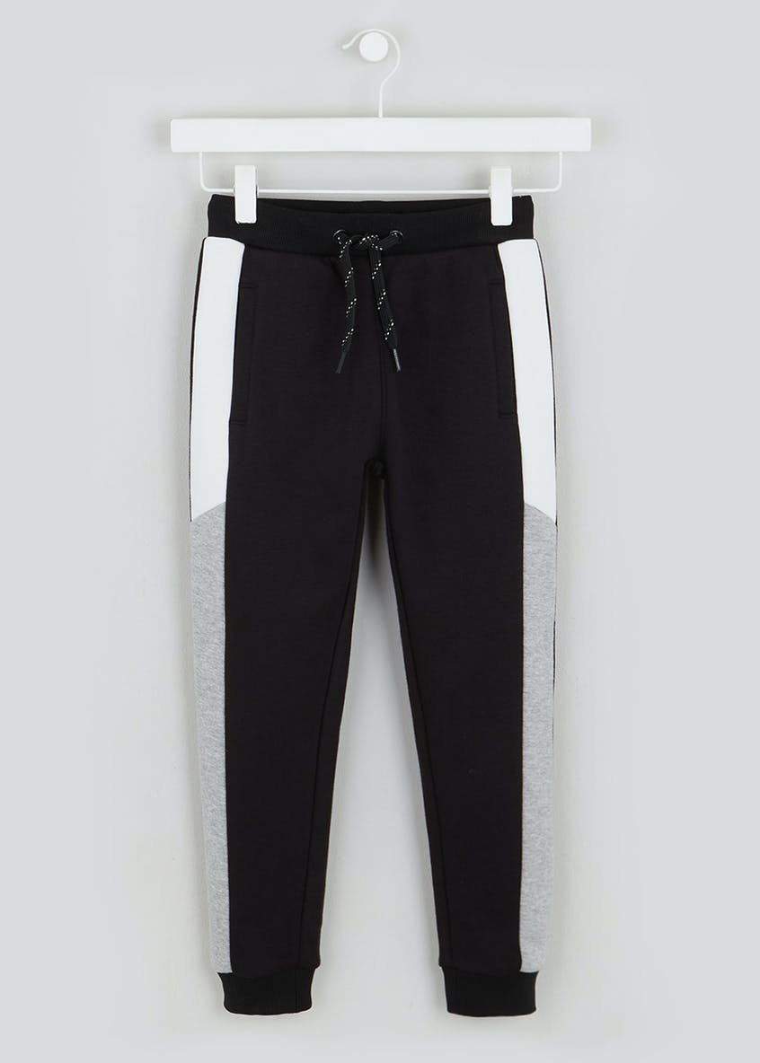 Boys Cut & Sew Jogging Bottoms (4-13yrs)