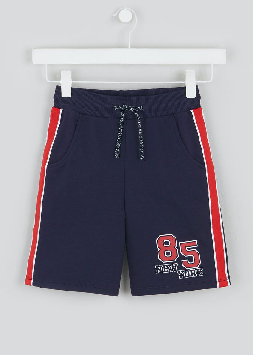 Boys Cut & Sew Jogging Shorts (4-13yrs)
