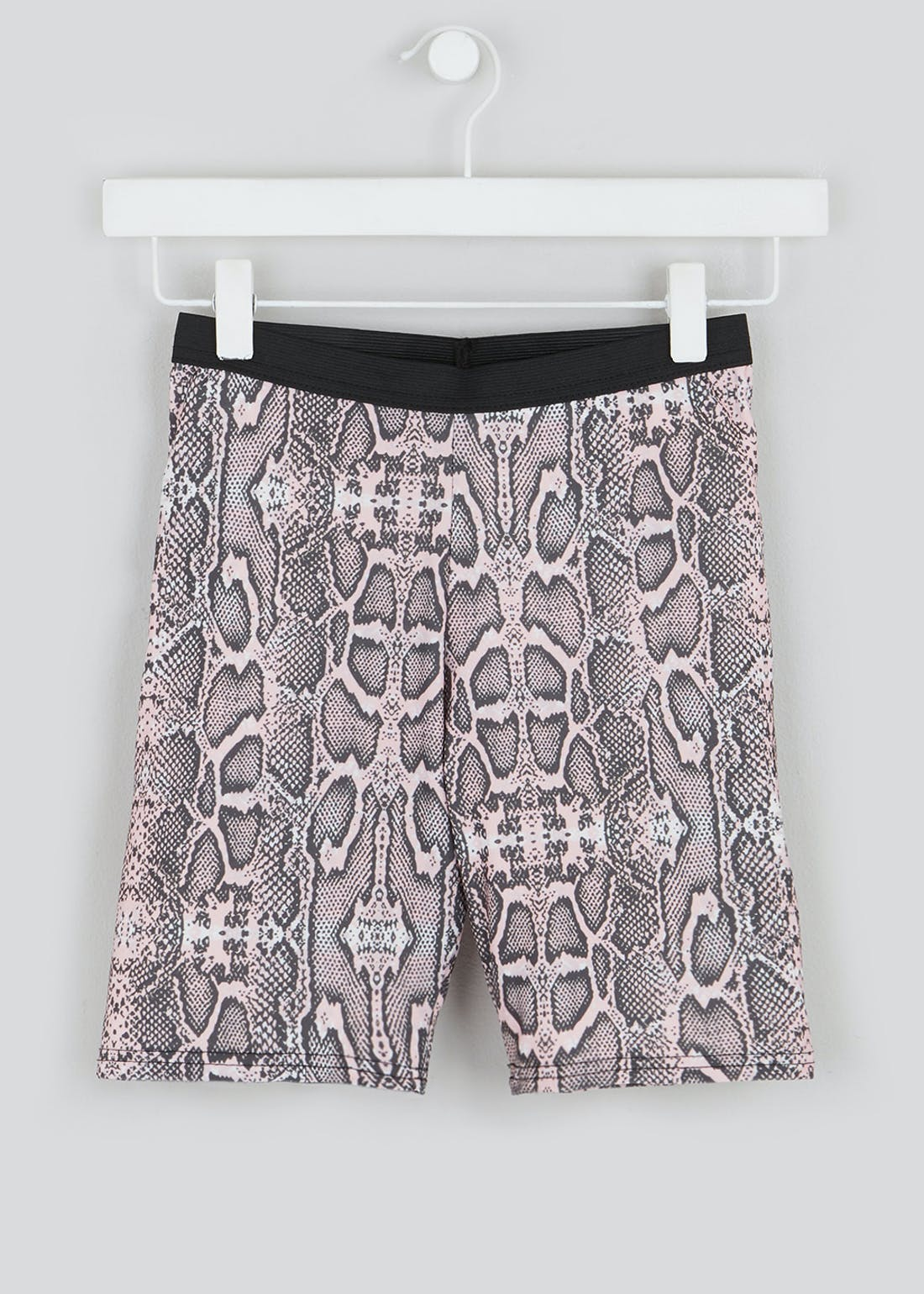 Girls Candy Couture X Snake Print Cycling Shorts (9-16yrs)
