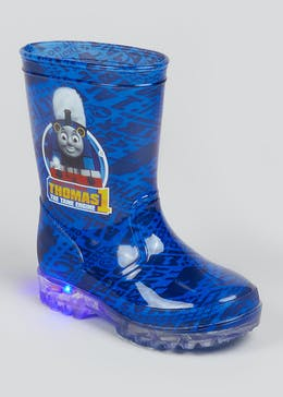 Kids Thomas the Tank Engine Light Up Wellies (Younger 4-12)