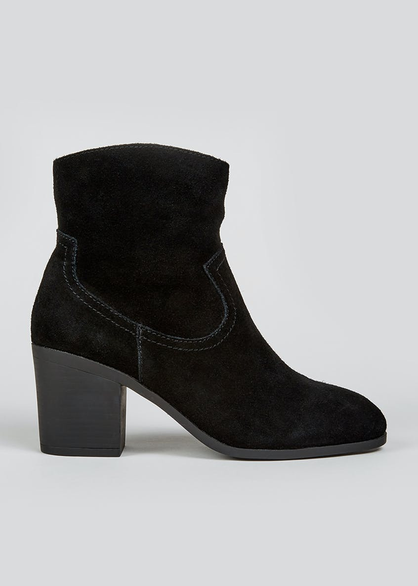 Soleflex Real Suede Western Boots