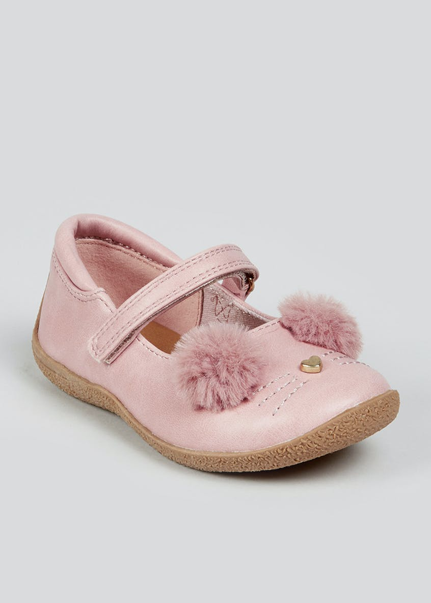 Girls Bunny Ballet Shoes (Younger 4-12)