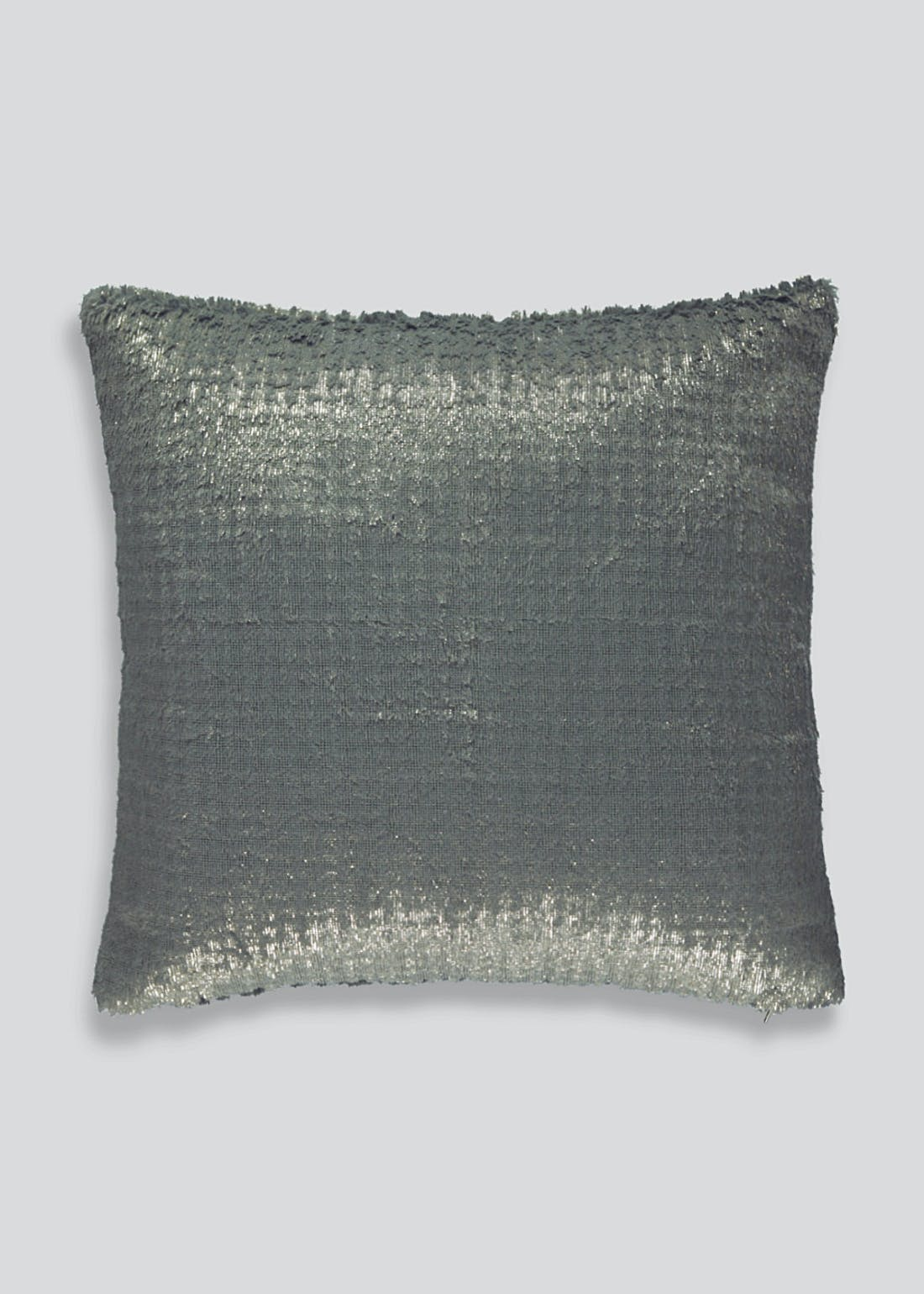Foiled Faux Fur Cushion (46cm x 46cm)