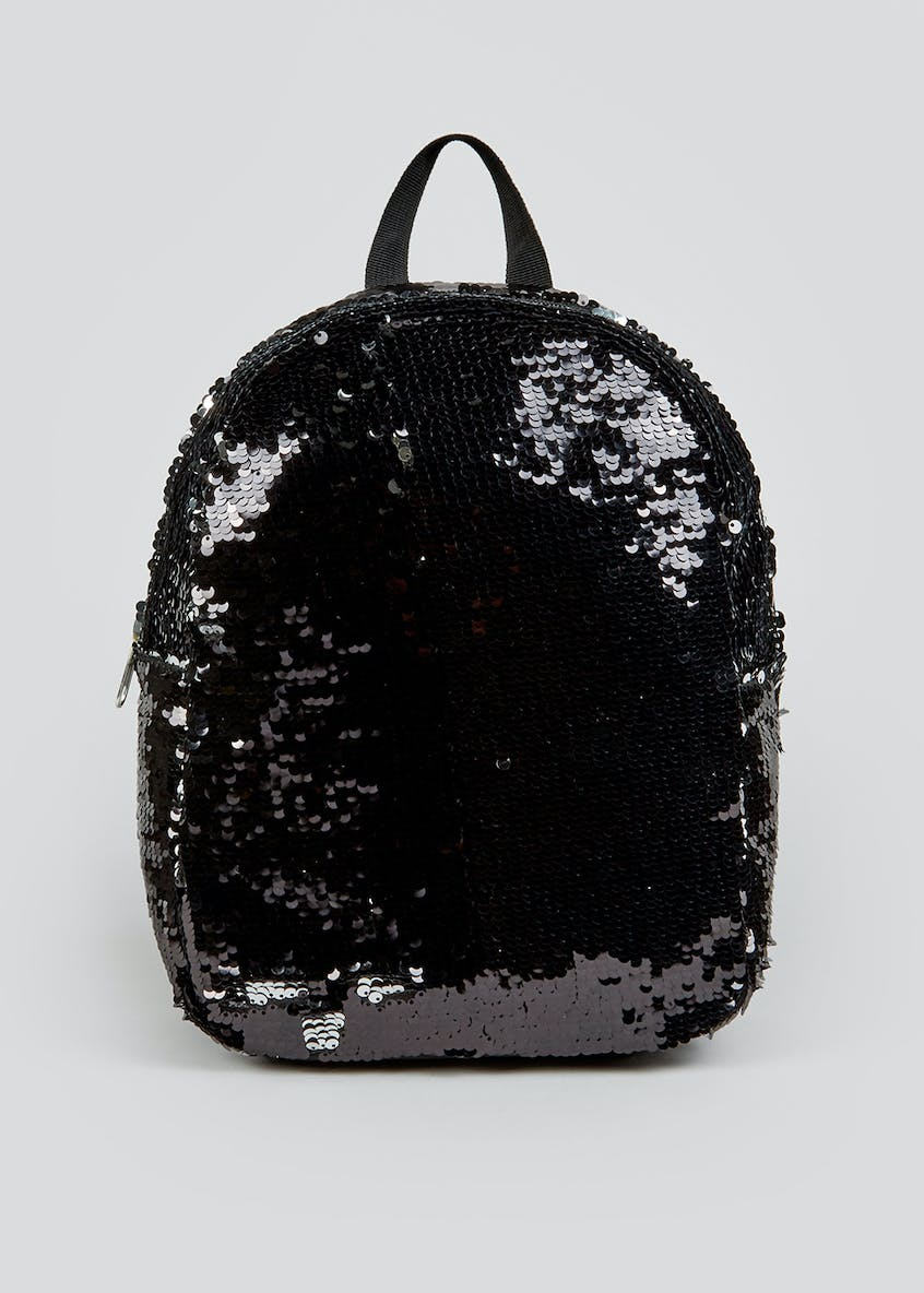 Girls Two-Tone Sequin Backpack