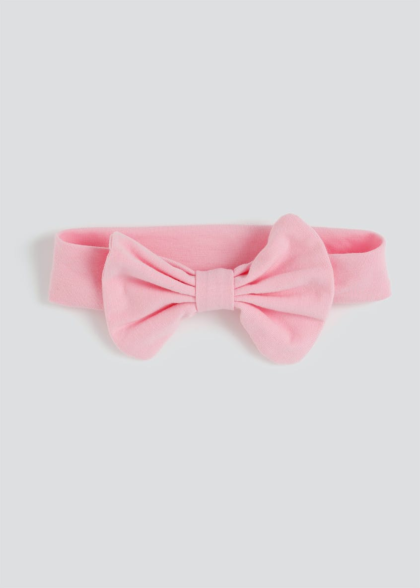 Girls Pink Bow Bandeau