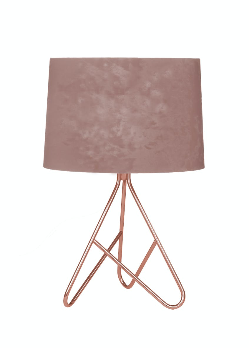 Ziggy Velvet Table Lamp