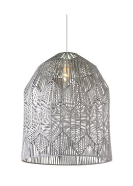 Tung Rattan Woven Easy Fit Shade (H50cm x W40cm)