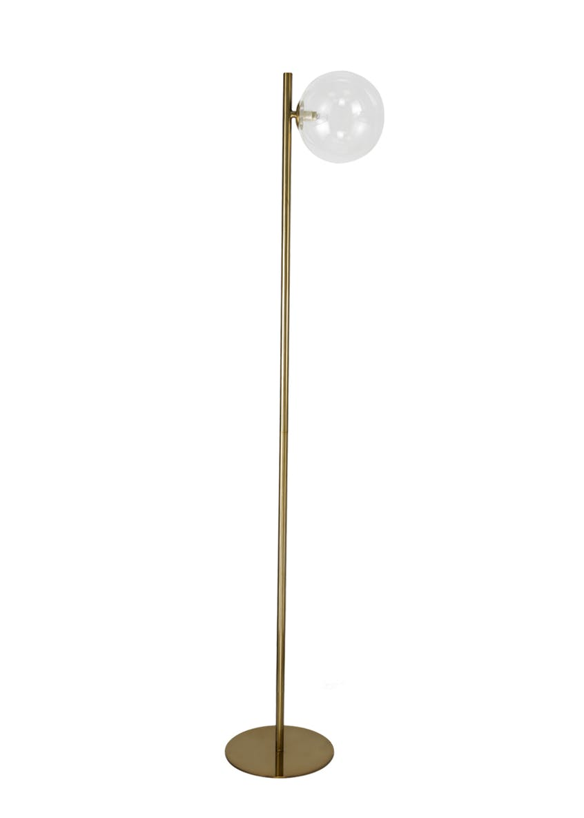 Nova Brass Floor Lamp (150cm x 33cm)