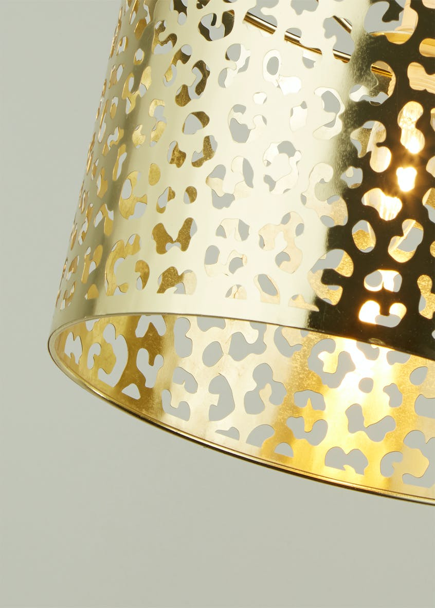 Anya Fretwork Easy Fit Lamp Shade (W30cm x H20cm)