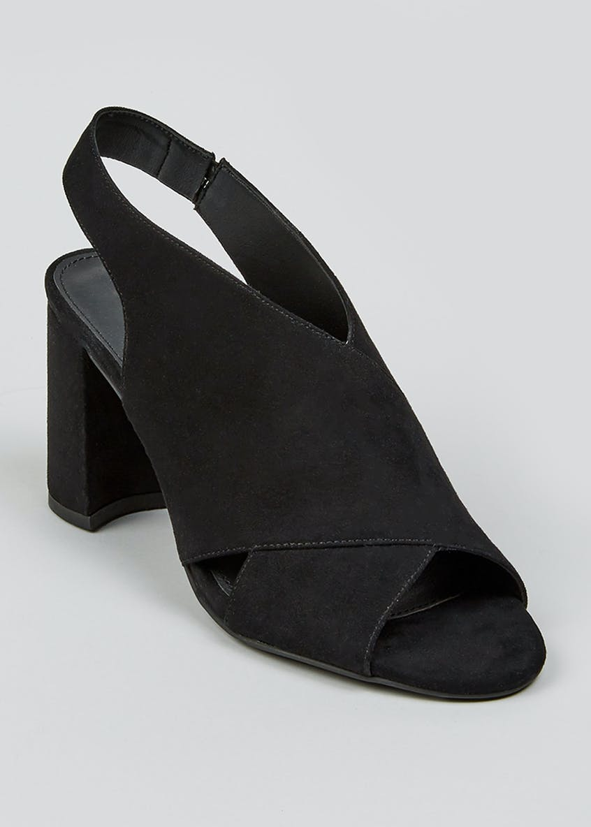 Wide Fit Cross Front Shoe Boots