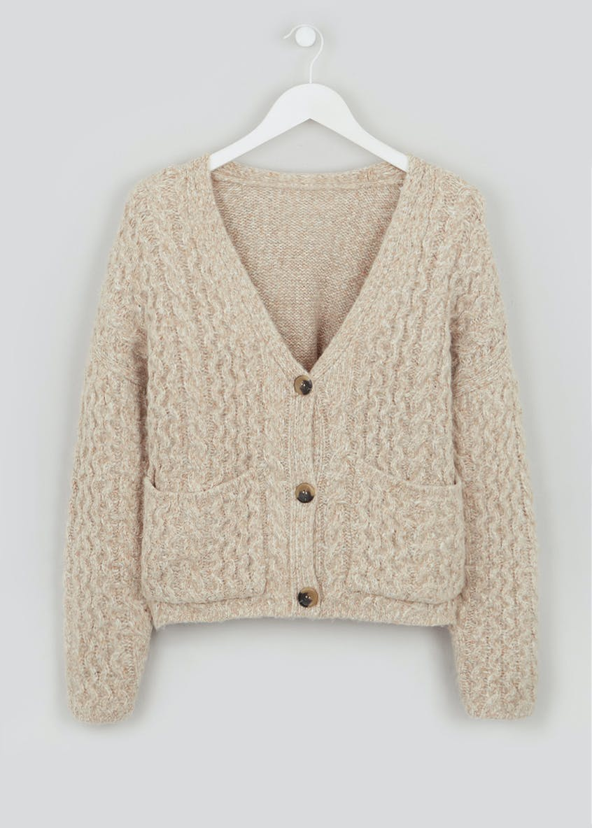 Falmer Twist Honeycomb Cardigan