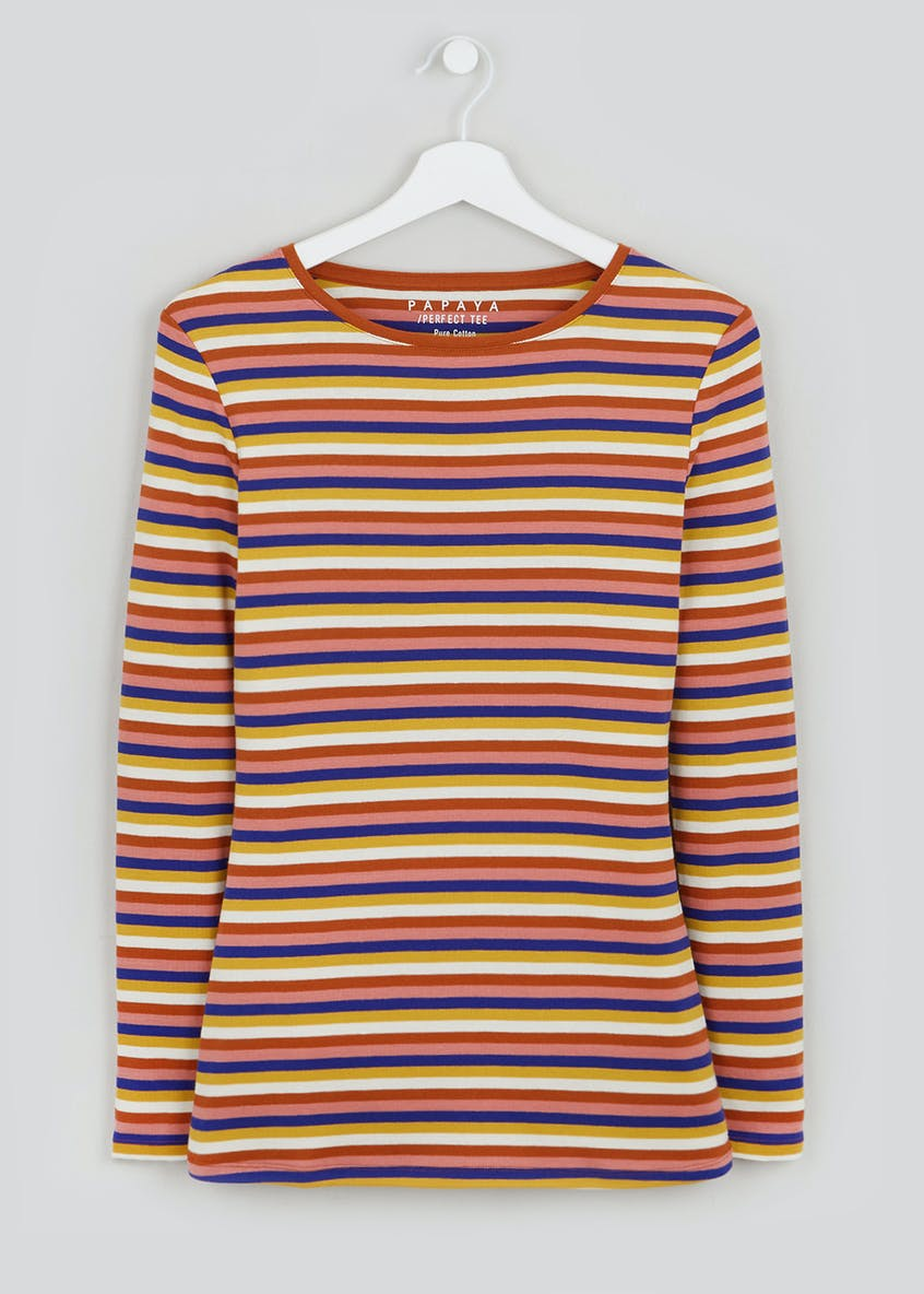 Perfect Stripe Long Sleeve T-Shirt