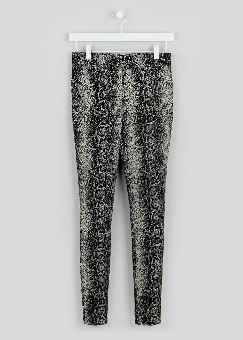 Snake Print Leggings