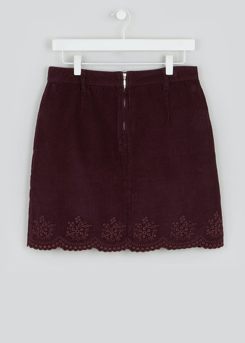 Falmer Cutwork Cord Skirt