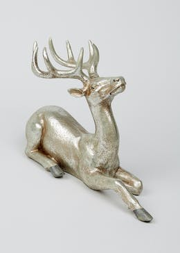 Decorative Stag Ornament (27cm x 37cm x 10cm)