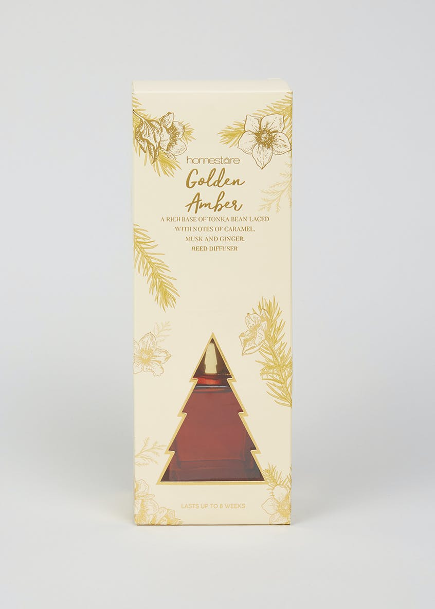 Golden Amber Christmas Diffuser (100ml)