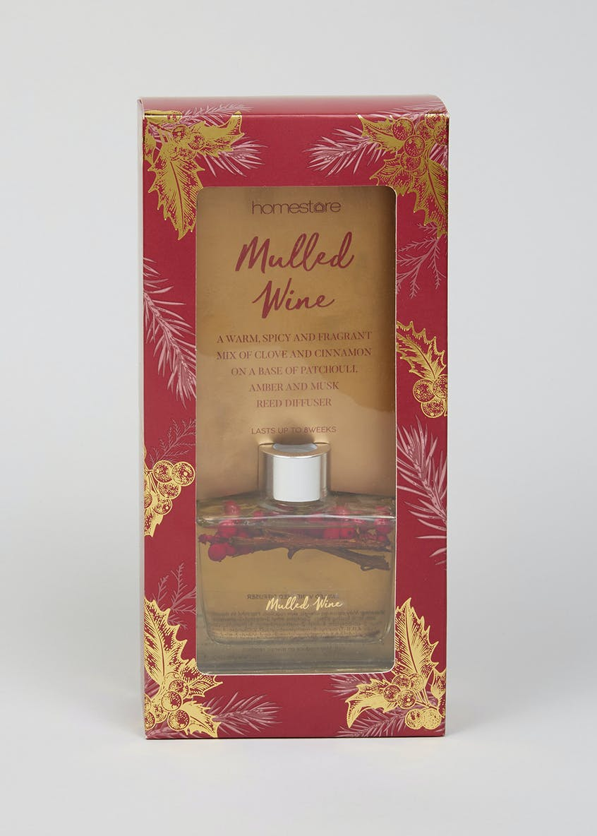 Mulled Wine Berries Christmas Diffuser (100ml)