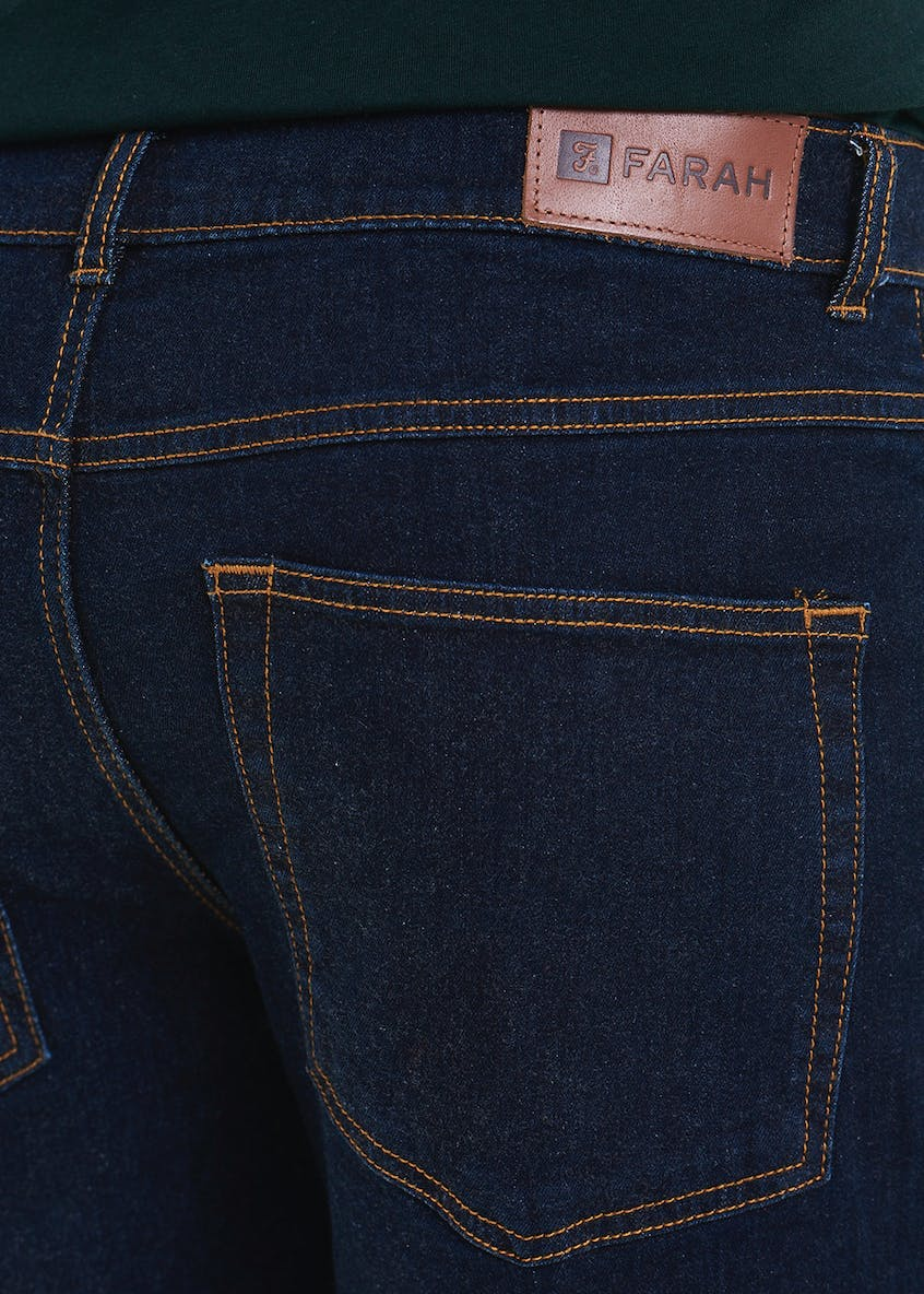 Farah Stretch Raw Wash Jeans