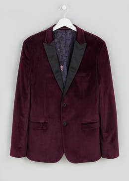 Fairfield Velvet Blazer