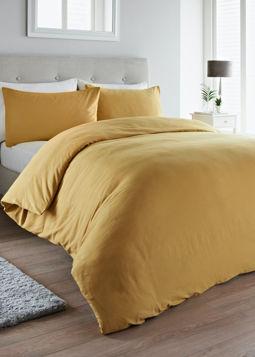 Plain Flannel Duvet Cover