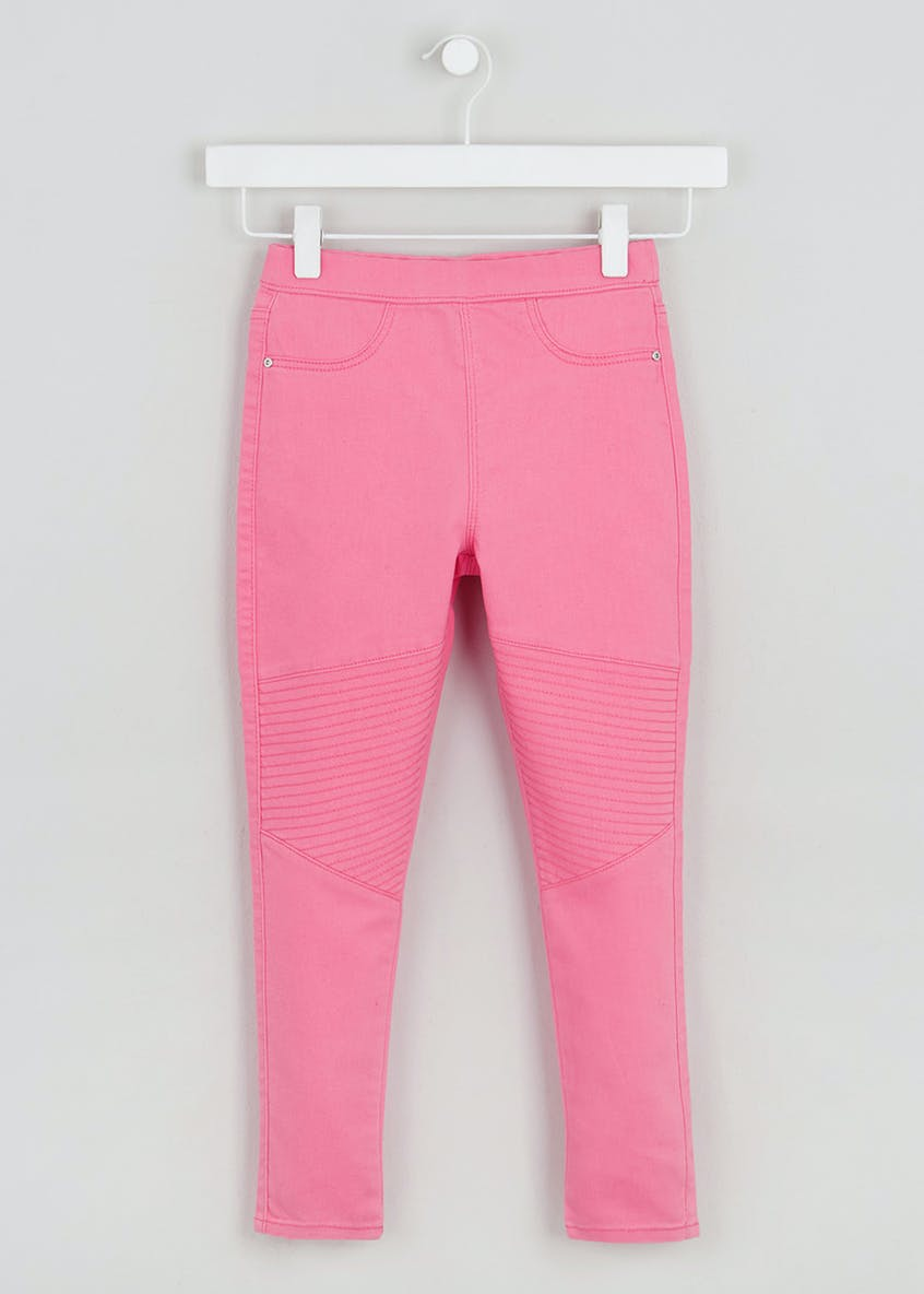 Girls Biker Jeggings (4-13yrs)