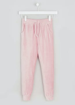 Girls Ribbed Jogging Bottoms (4-13yrs)