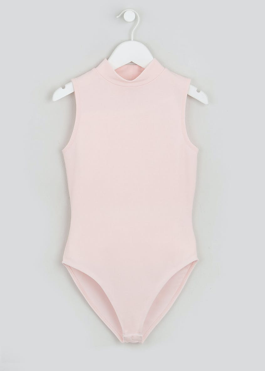 Girls Candy Couture X Sleeveless Bodysuit (9-16yrs)