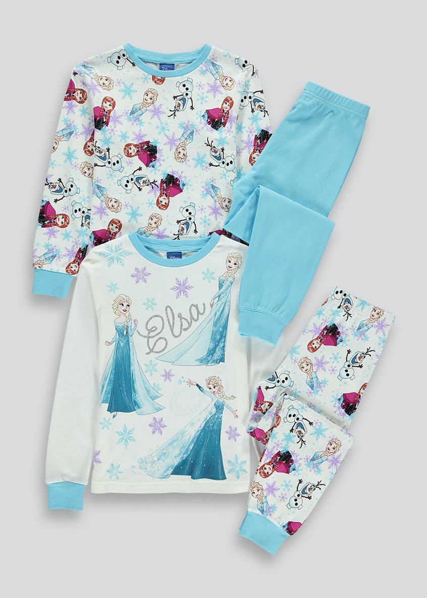 Kids Frozen 2 Pack Pyjama Set (2-9yrs)