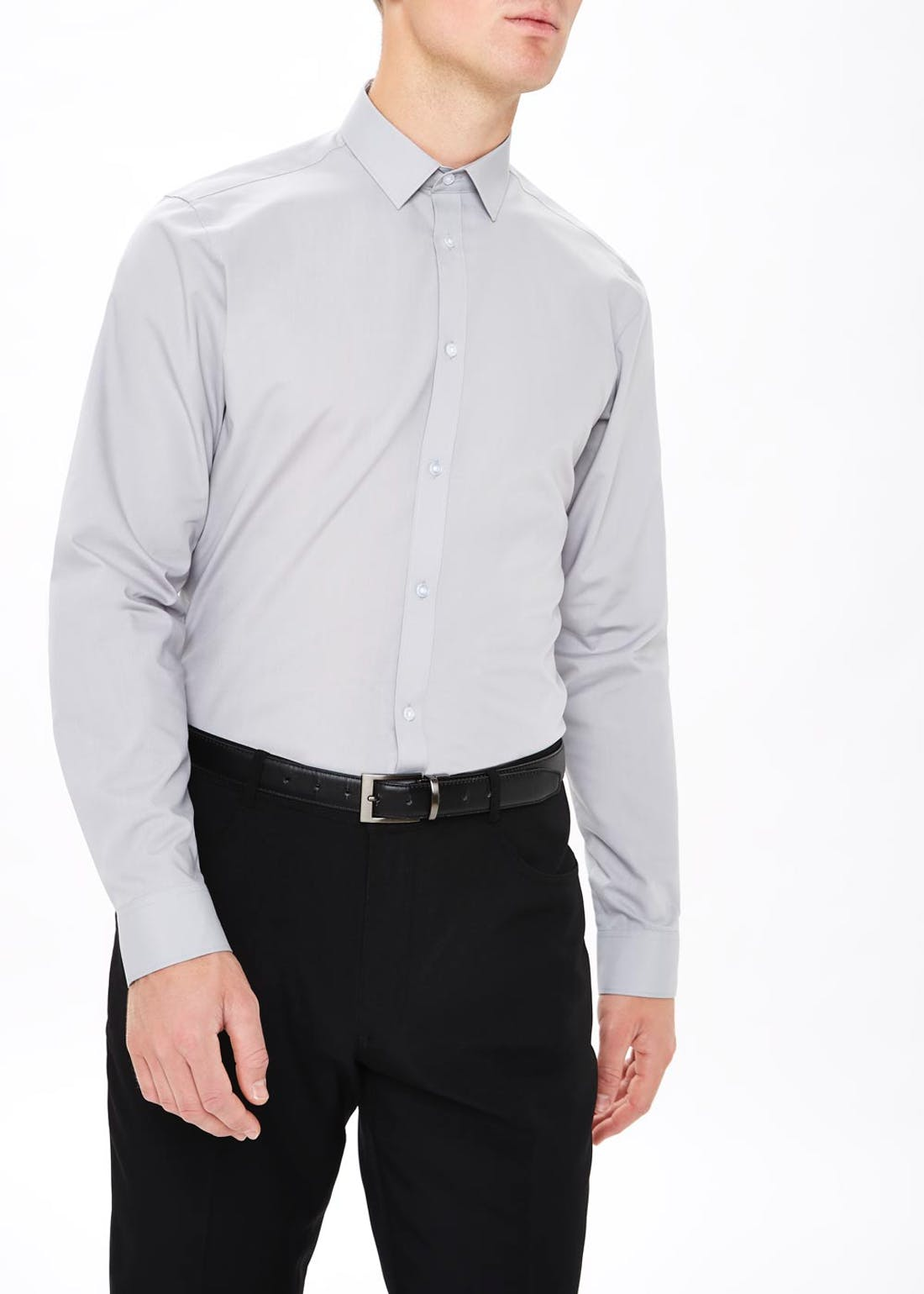 Taylor & Wright Easy Care Slim Fit Long Sleeve Shirt