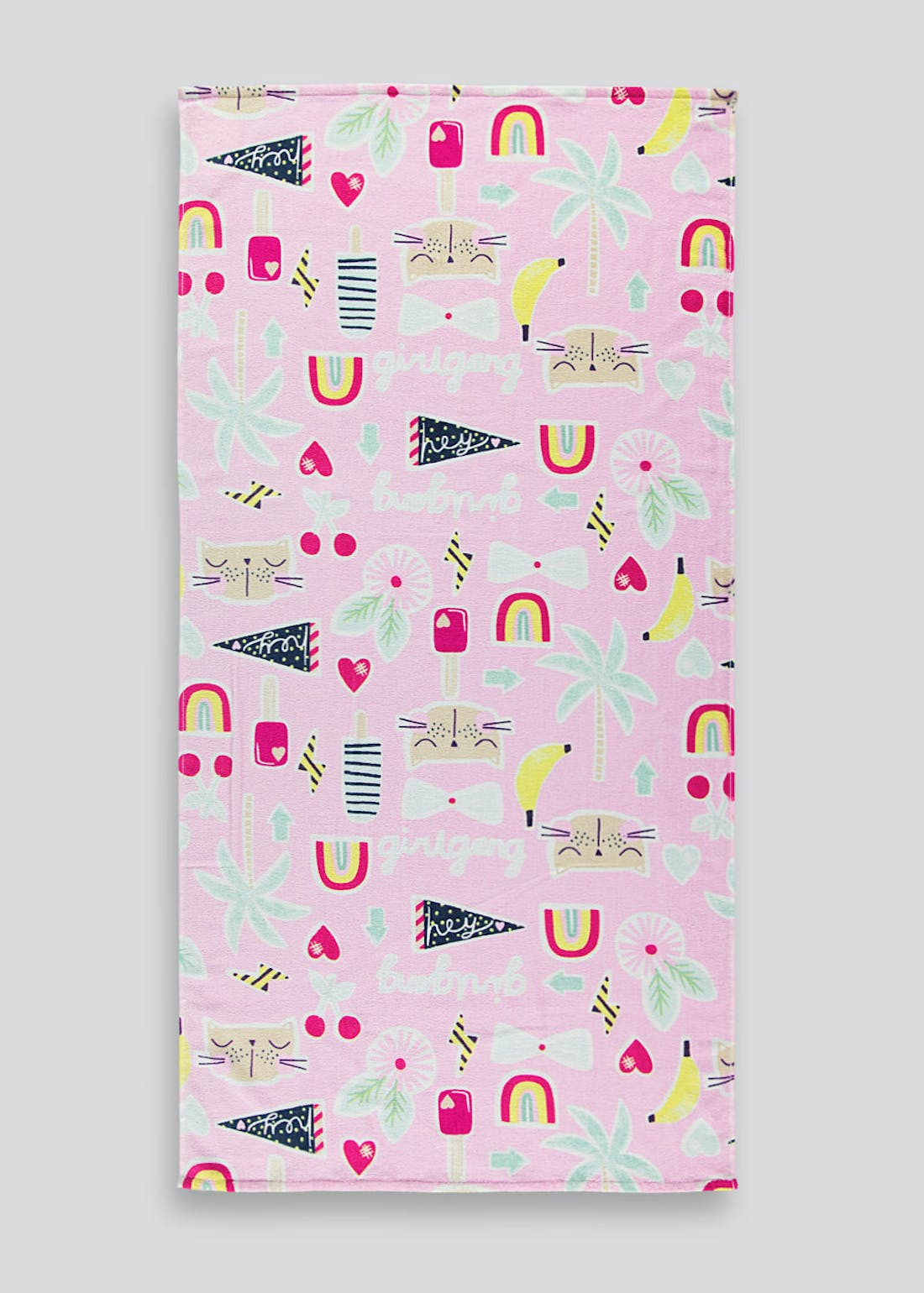 Kids Multi Print Beach Towel