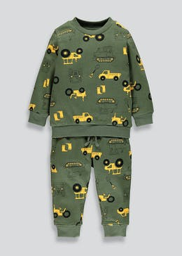 Boys Brushback Transport Jogging Set (9mths-6yrs)