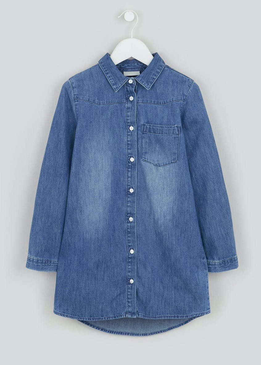 Girls Denim Tunic (4-13yrs)