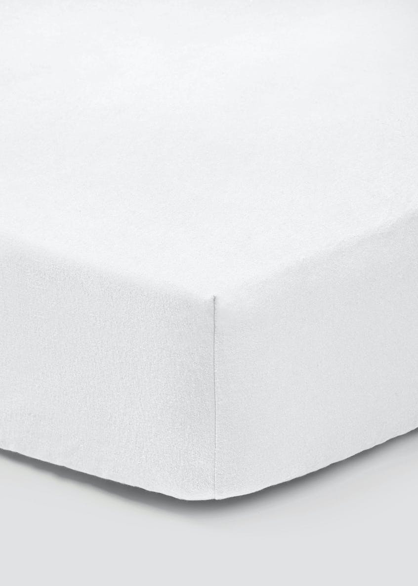 100% Brushed Cotton Fitted Sheet