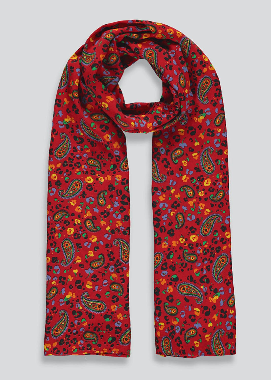 Paisley Woven Scarf
