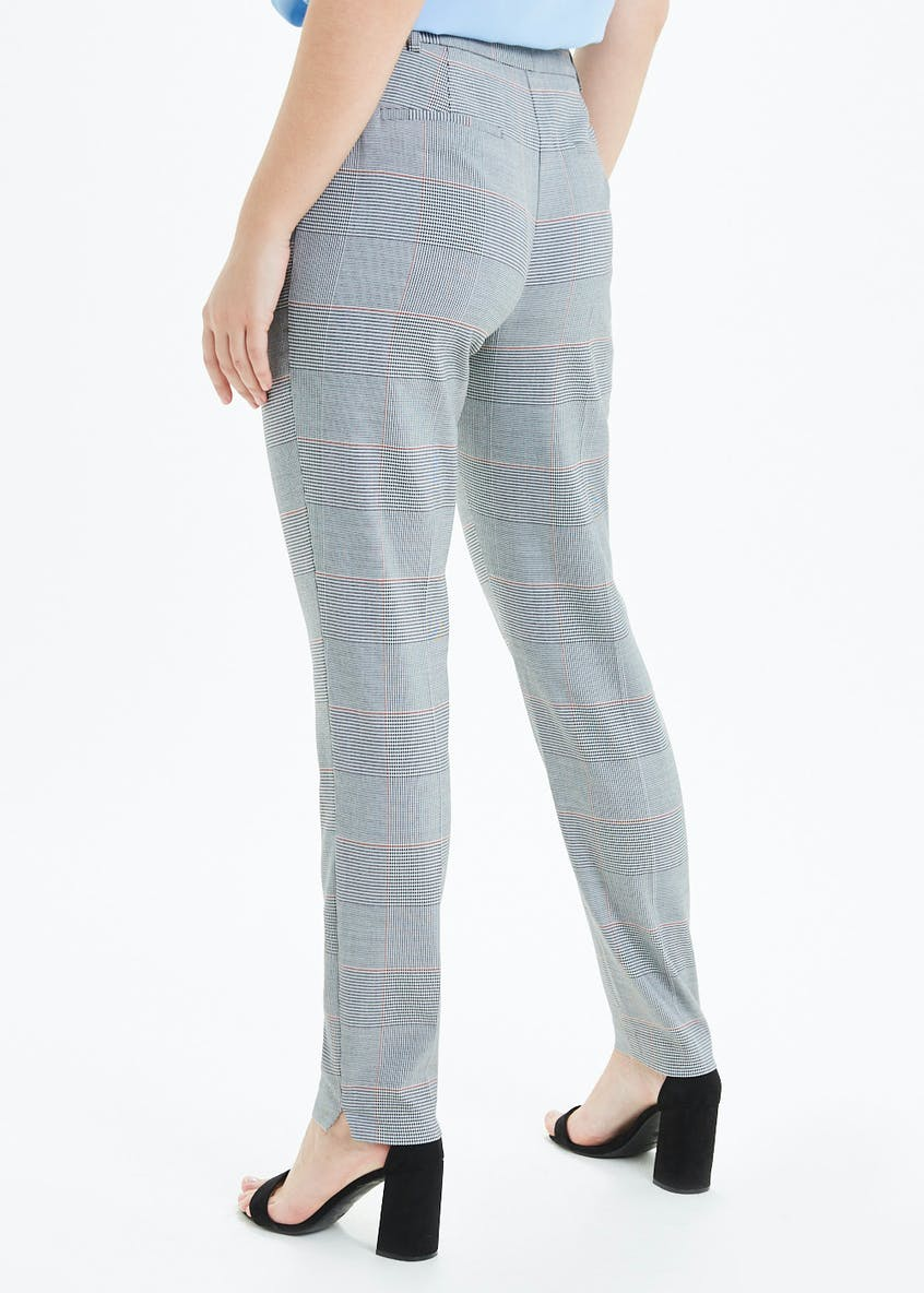 Check Slim Fit Suit Trousers (31 Inch Leg)
