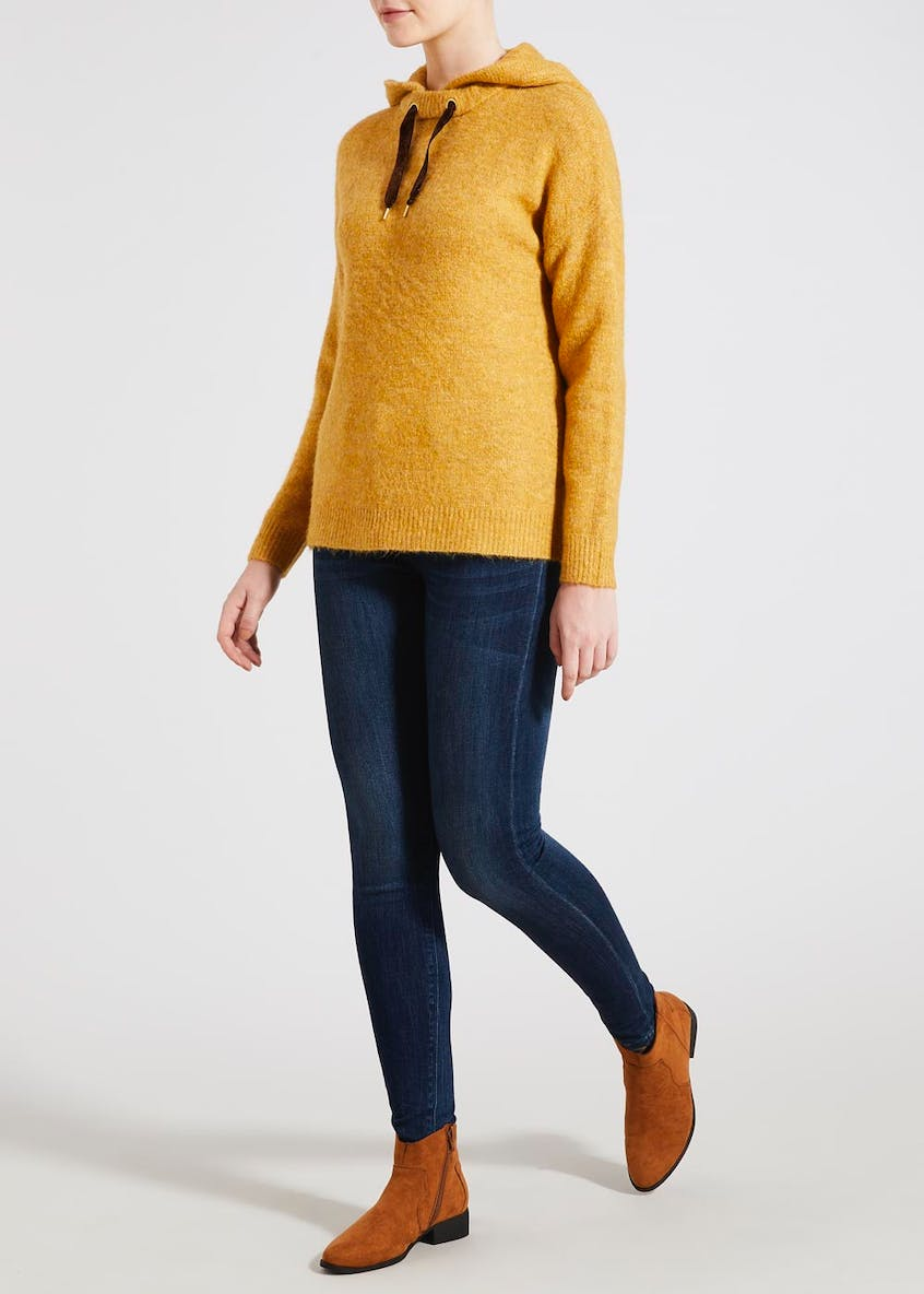 Falmer Pull On Knitted Hoodie