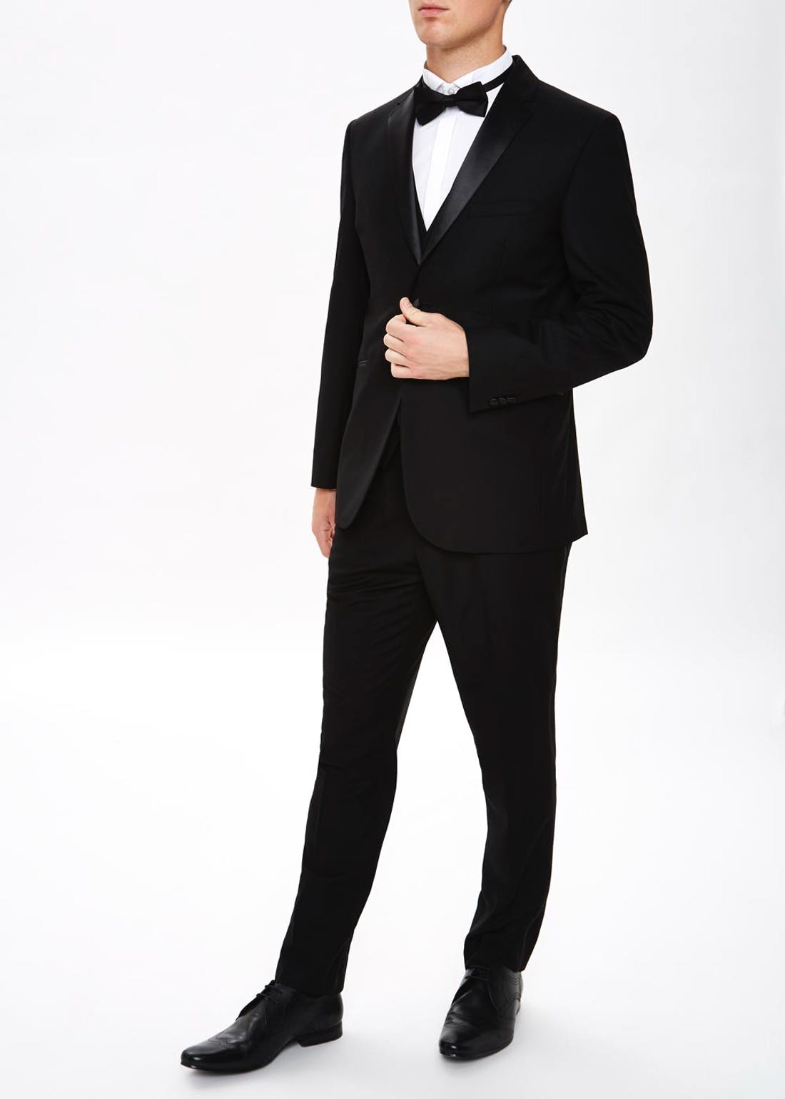 Taylor & Wright Firth Tailored Fit Tuxedo Trousers