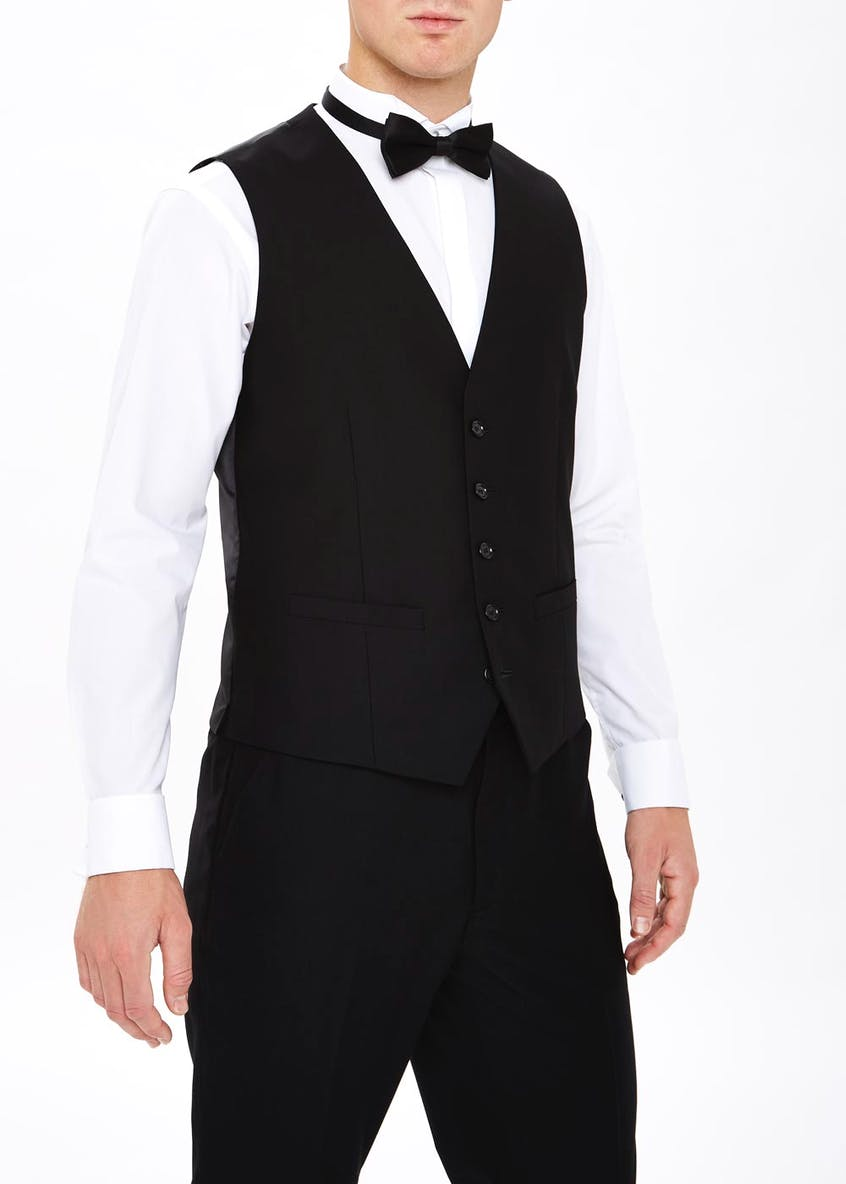 Taylor & Wright Firth Tailored Fit Dinner Waistcoat