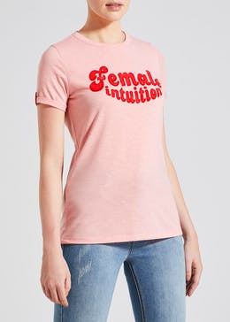 Falmer Female Slogan T-Shirt