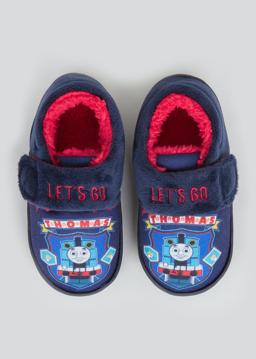 Kids Thomas Co-Ord Slippers (Younger 4-12)