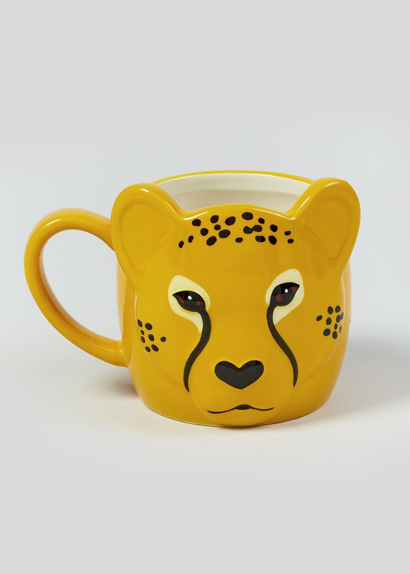 Leopard Shaped Mug